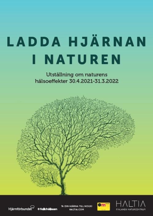 Hjärnträdet på en affisch
